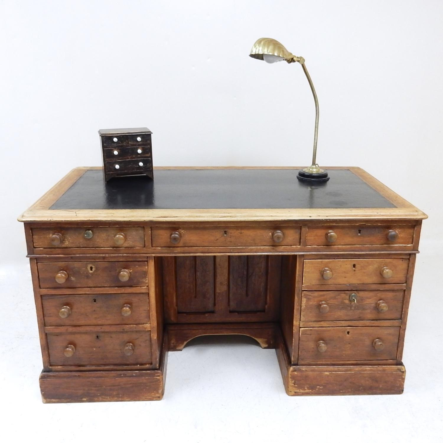 Antique Pine Desk