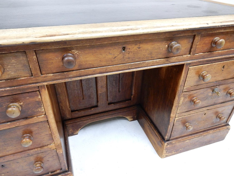 ... Antique Pine Desk - picture 8 - Antique Pine Desk In Miscellany