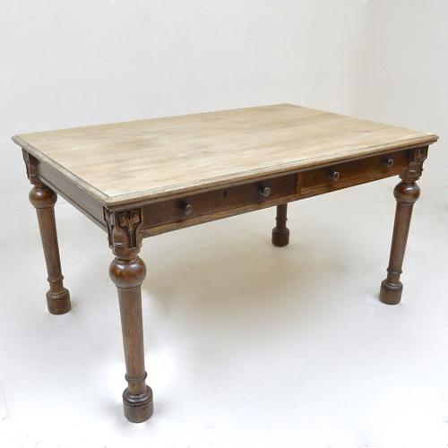 Antique Oak Kitchen Table