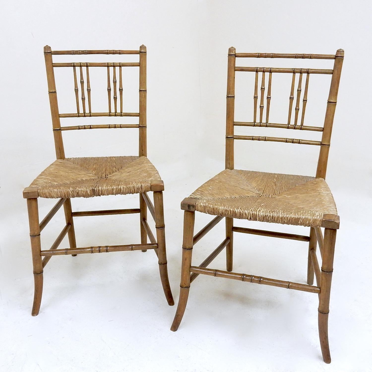 Regency Side Chairs