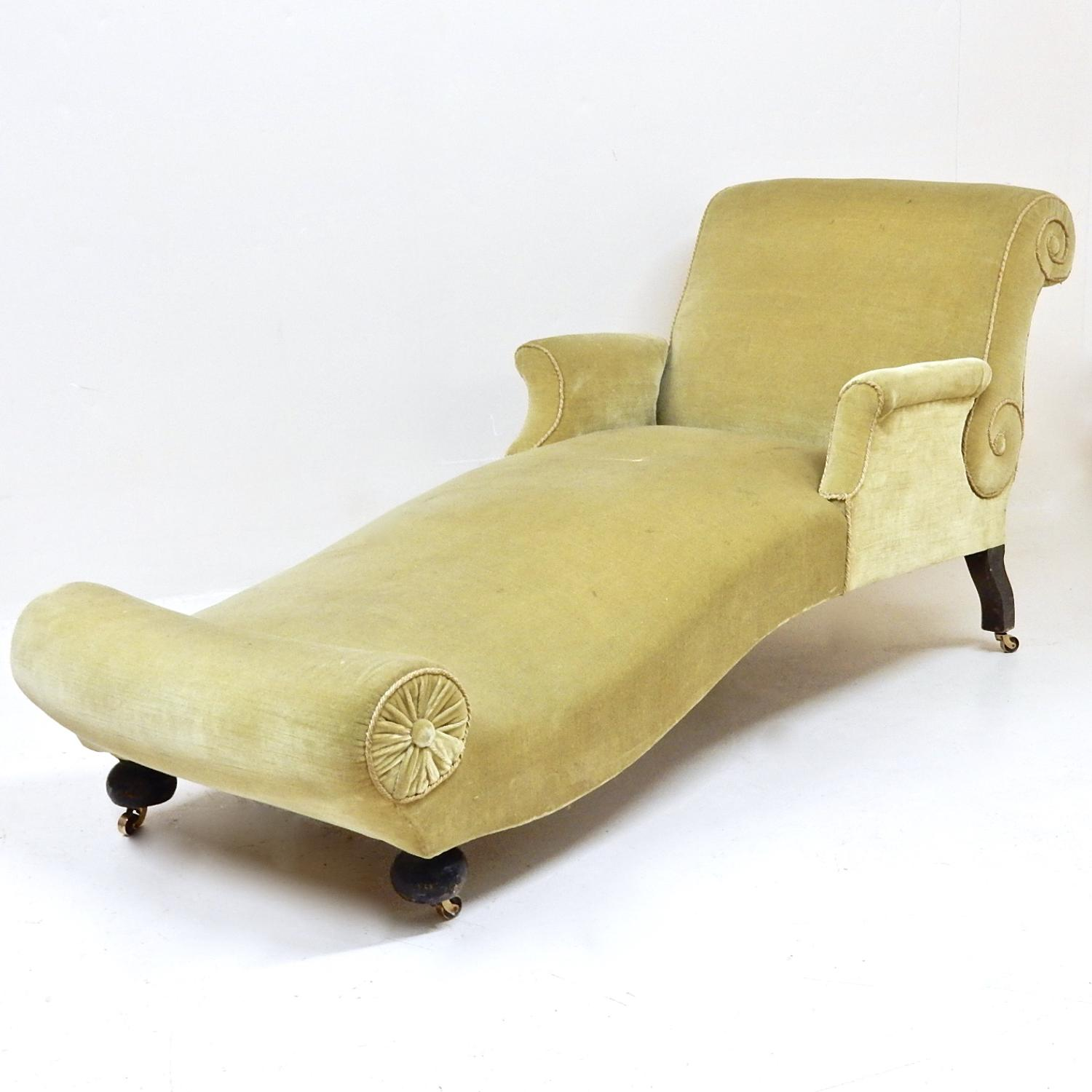Antique Reclining Day Bed