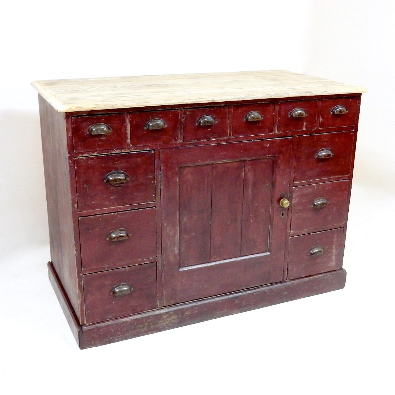 Antique Pine Counter