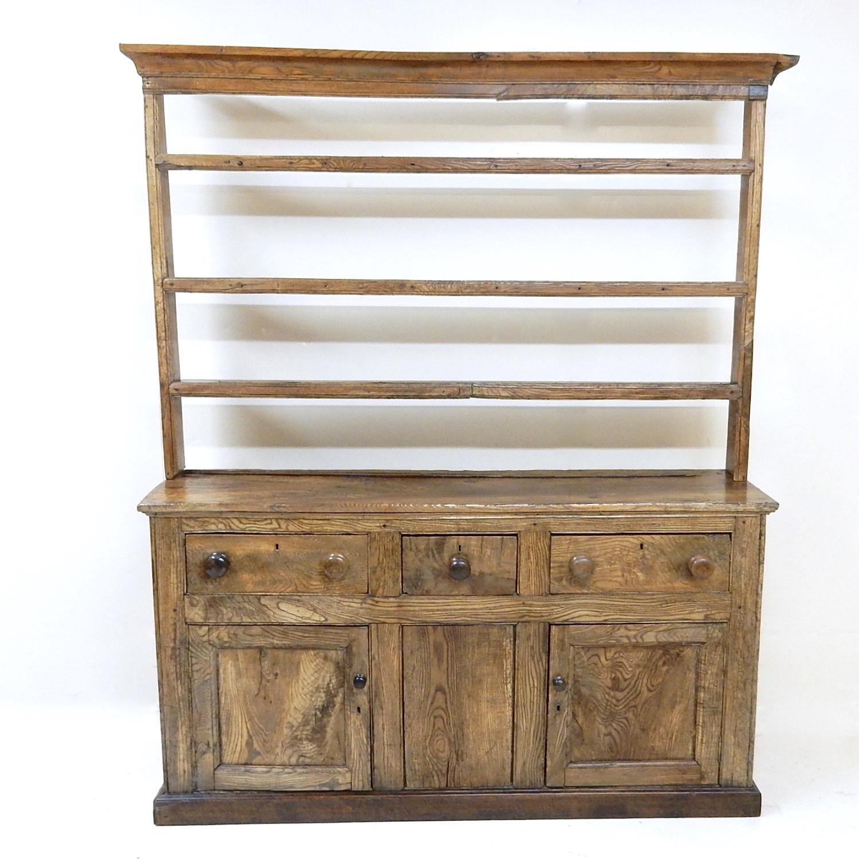 C19th Elm Dresser (tlc needed)