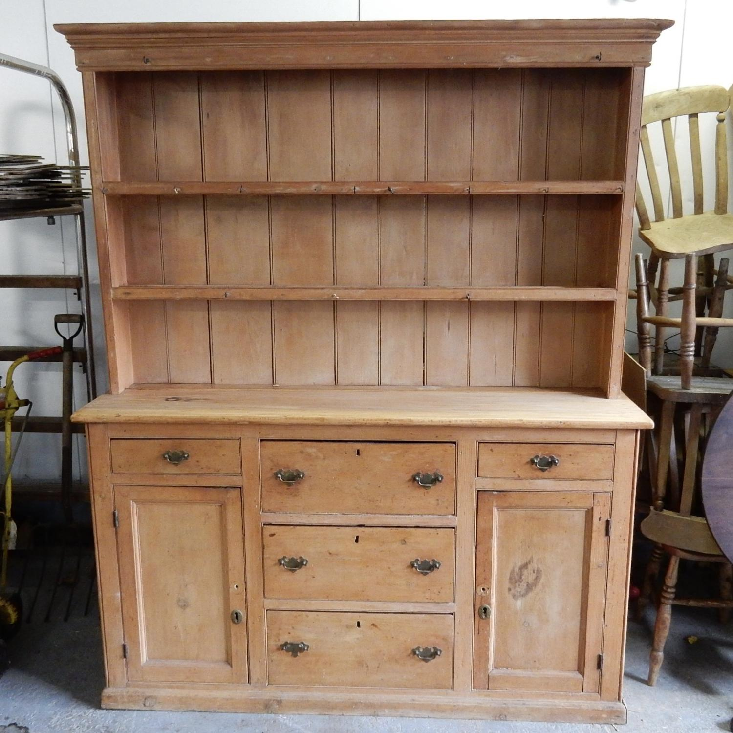 Antique Pine Dresser (for refurbishment)