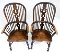 Pr Antique Windsor Armchairs - picture 2