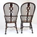 Pr Antique Windsor Armchairs - picture 3