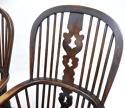 Pr Antique Windsor Armchairs - picture 4