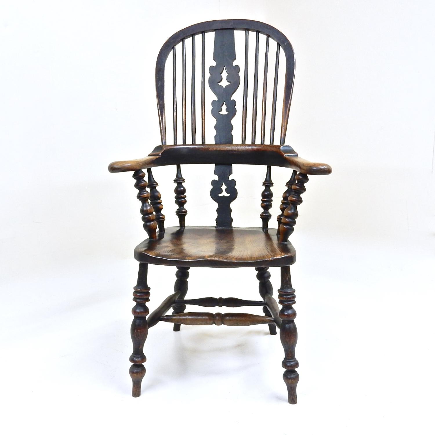 Large Broadarm Windsor Armchair