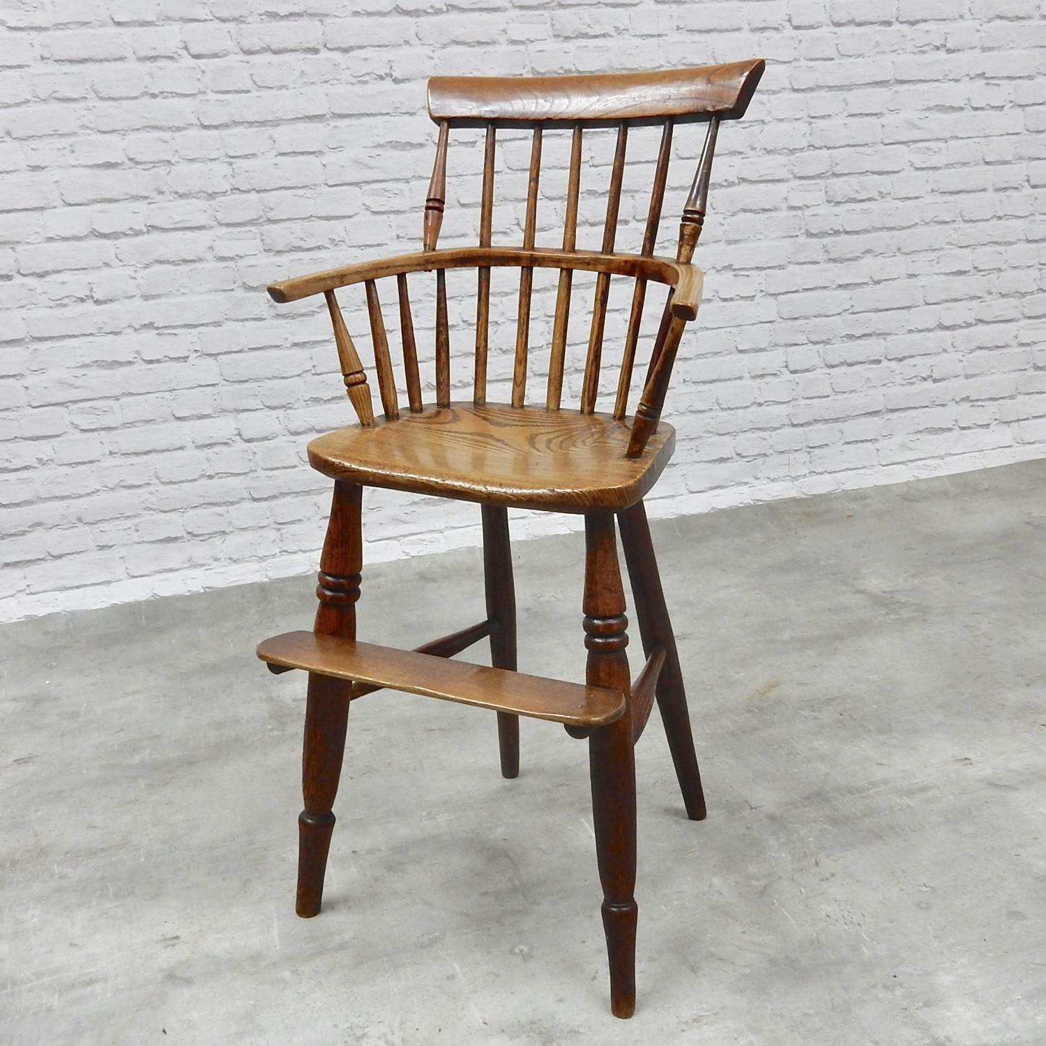 Antique Windsor Highchair