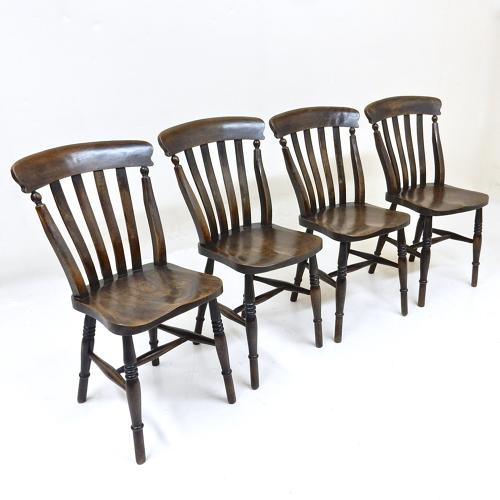 Antique Country Chair Set