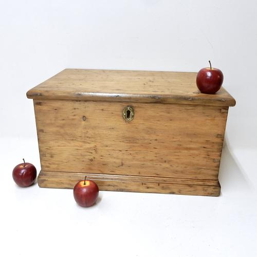 Antique Pine Storage Chest