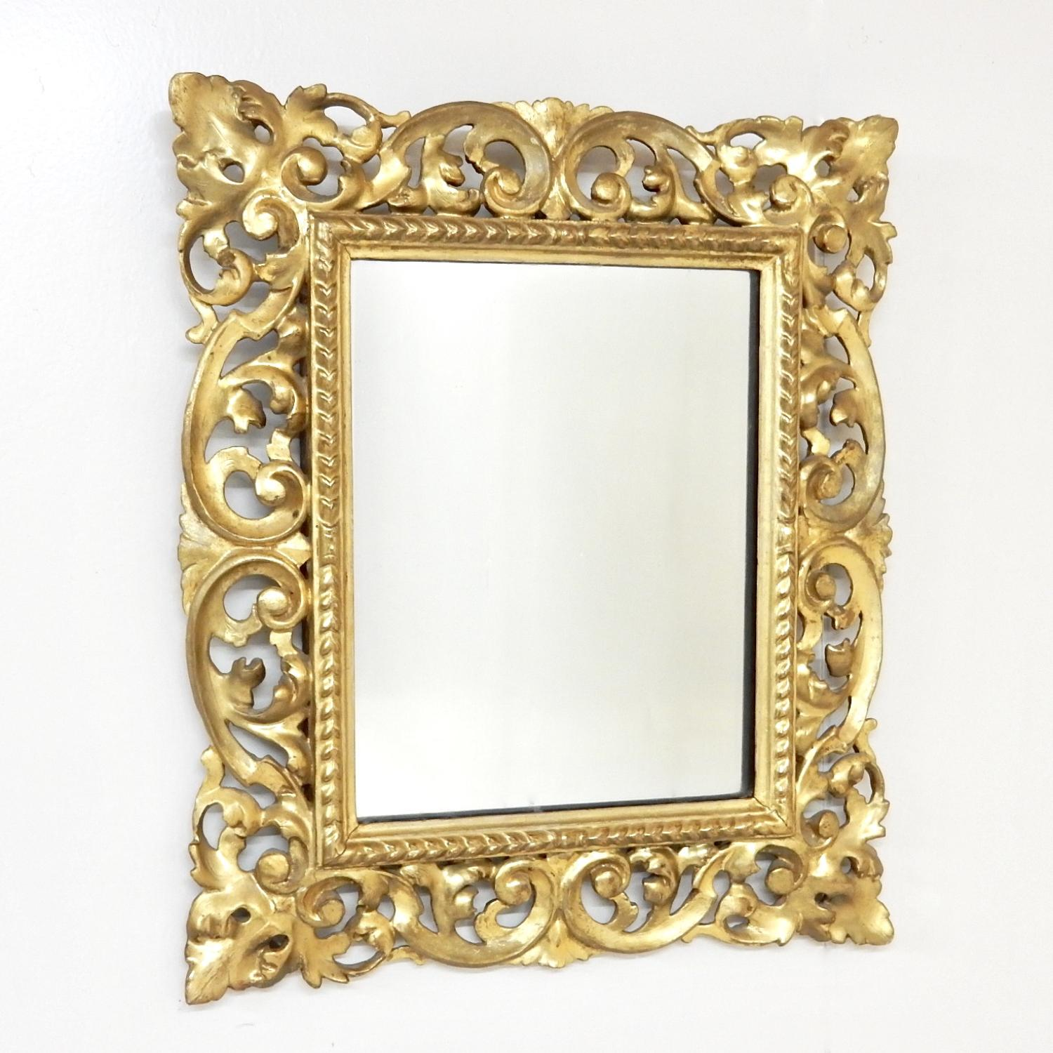Antique Florentine Wall Mirror