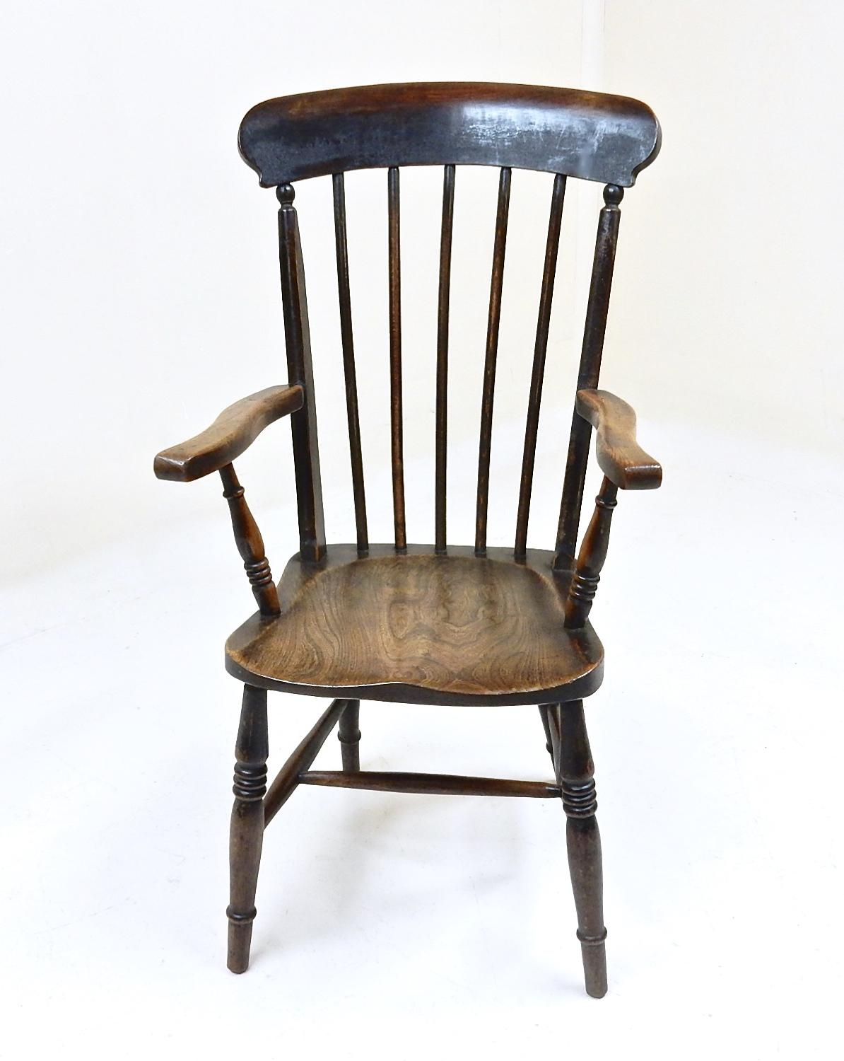 Antique Stickback Windsor Armchair