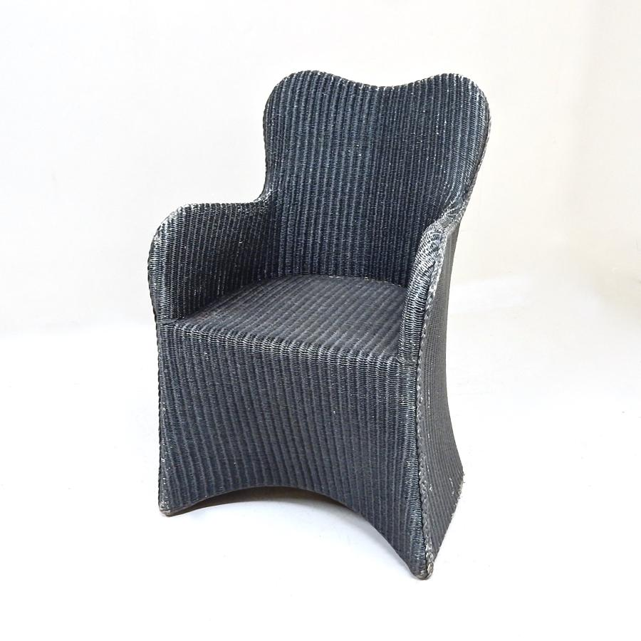 Lloyd Loom Lounge Chair