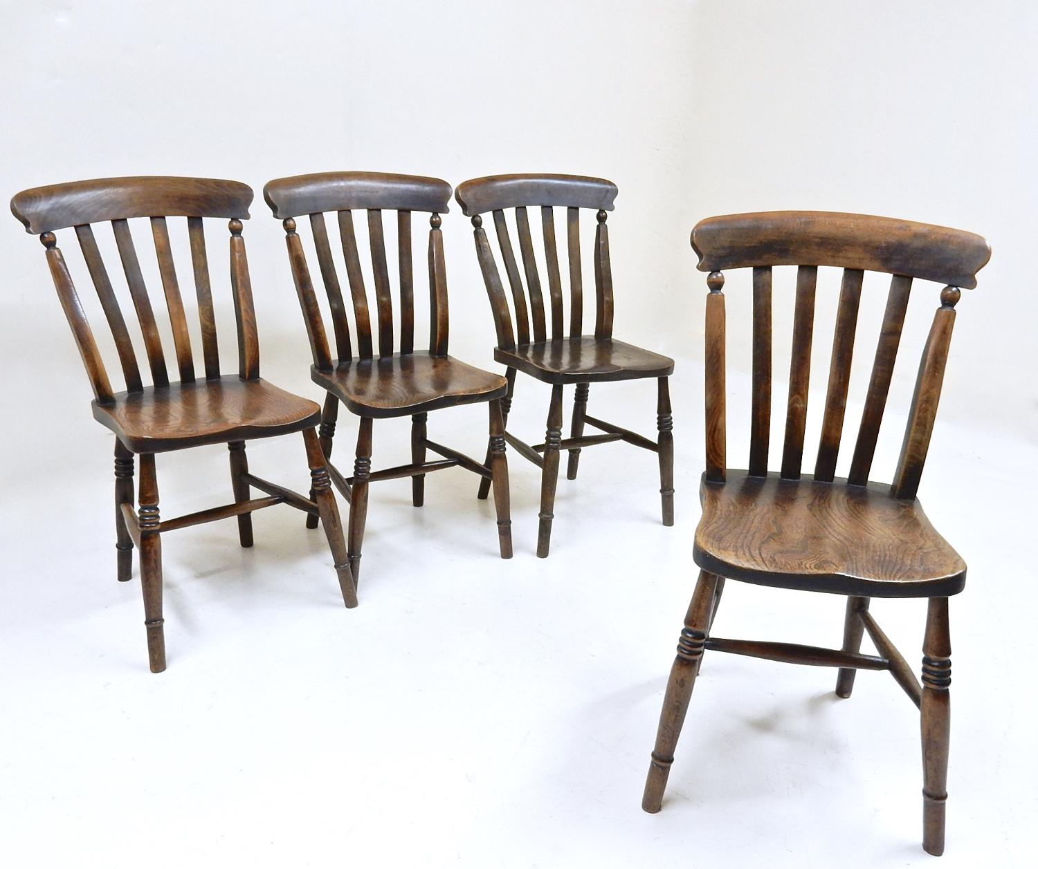 Antique Windsor Side Chairs