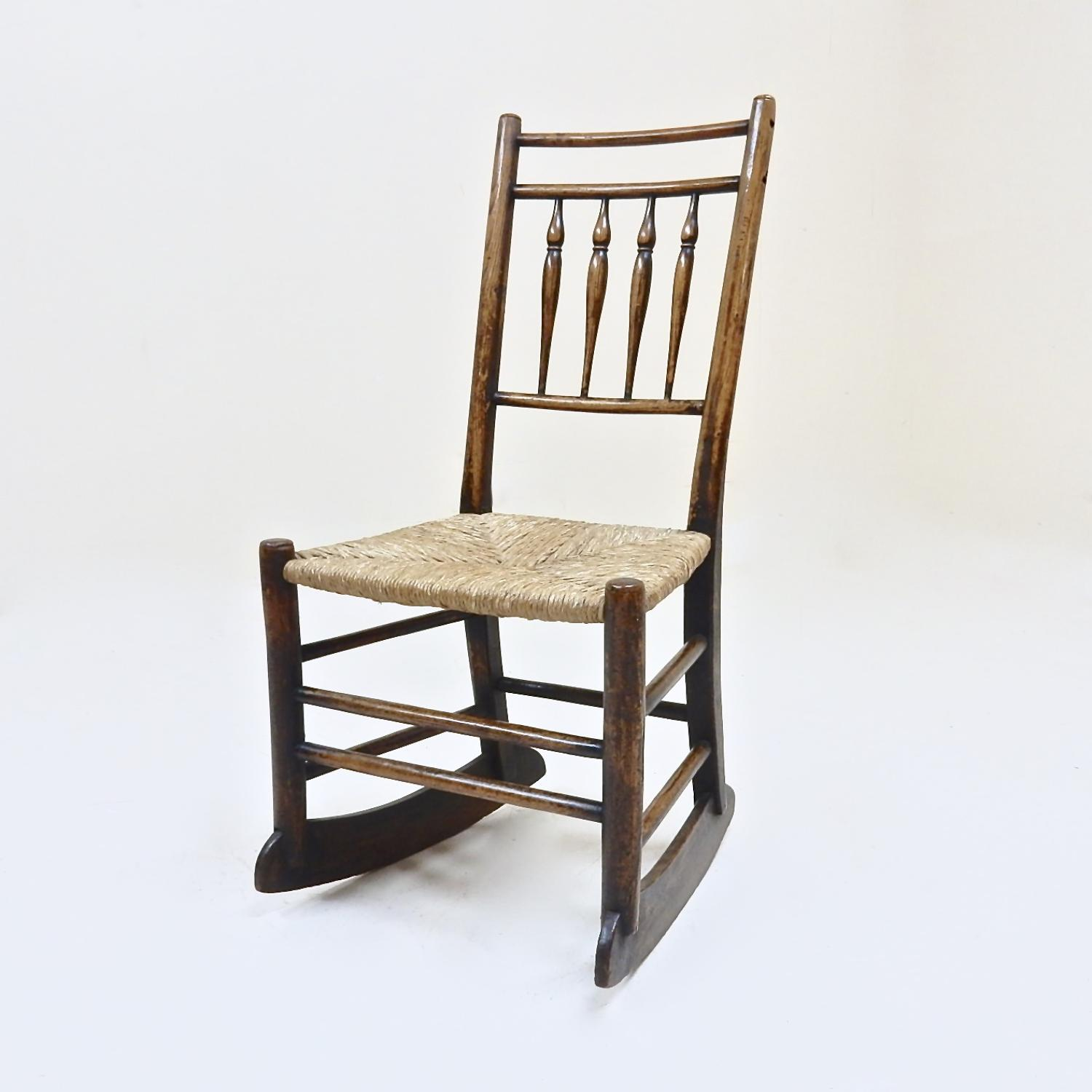 Small Antique Rocking Chair