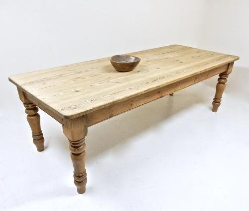 Large Farmhouse Kitchen Table
