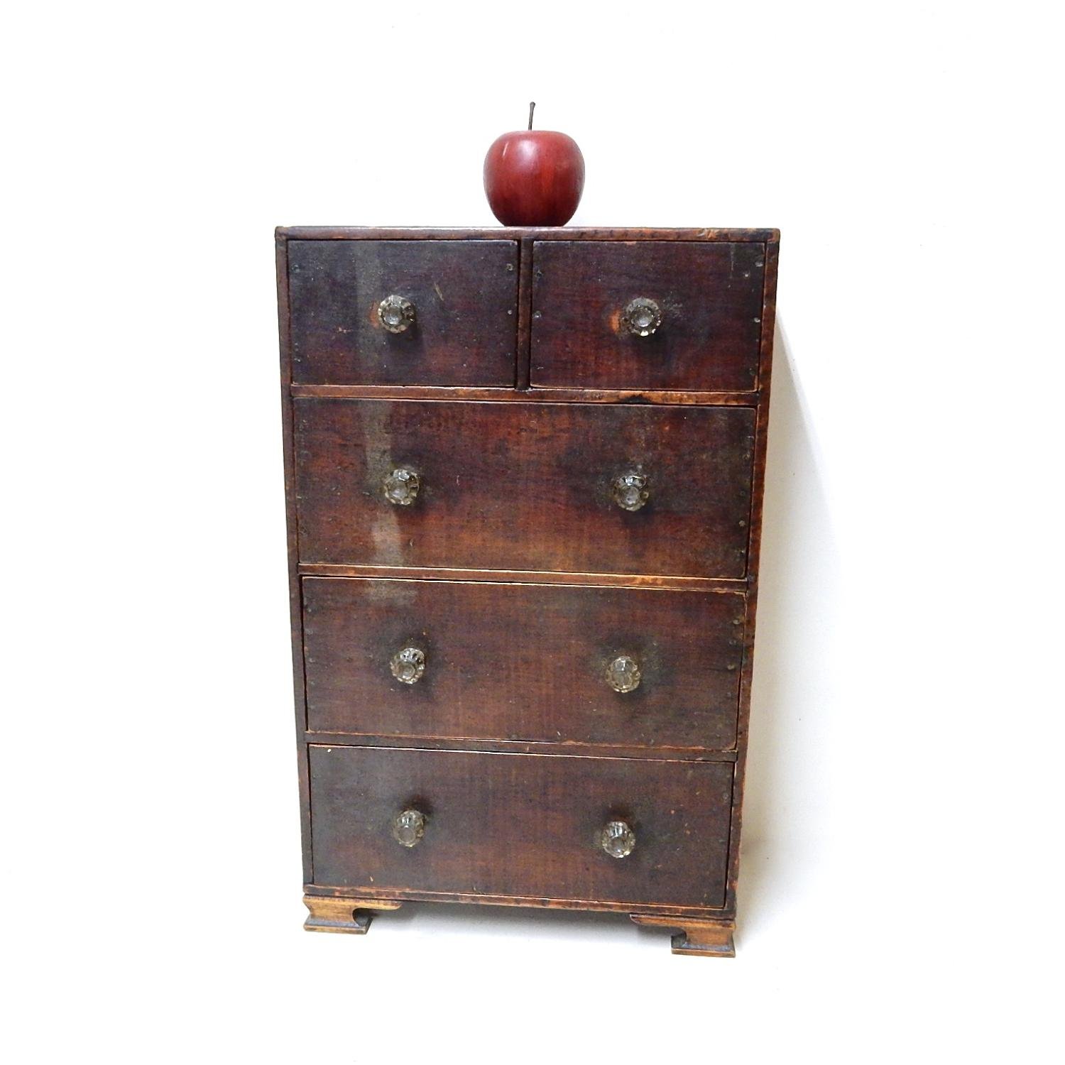 Georgian Mini Chest of Drawers
