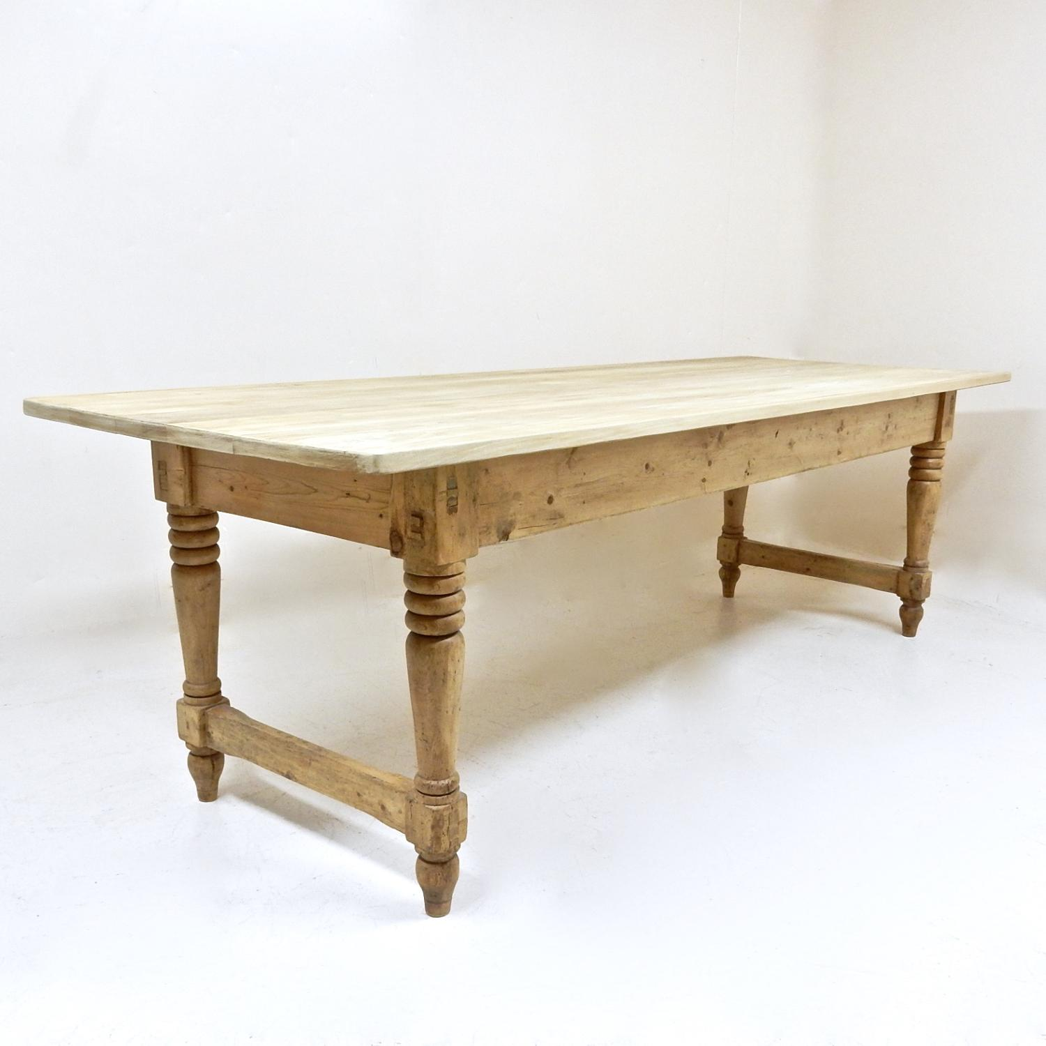 Antique Pine Refectory Table