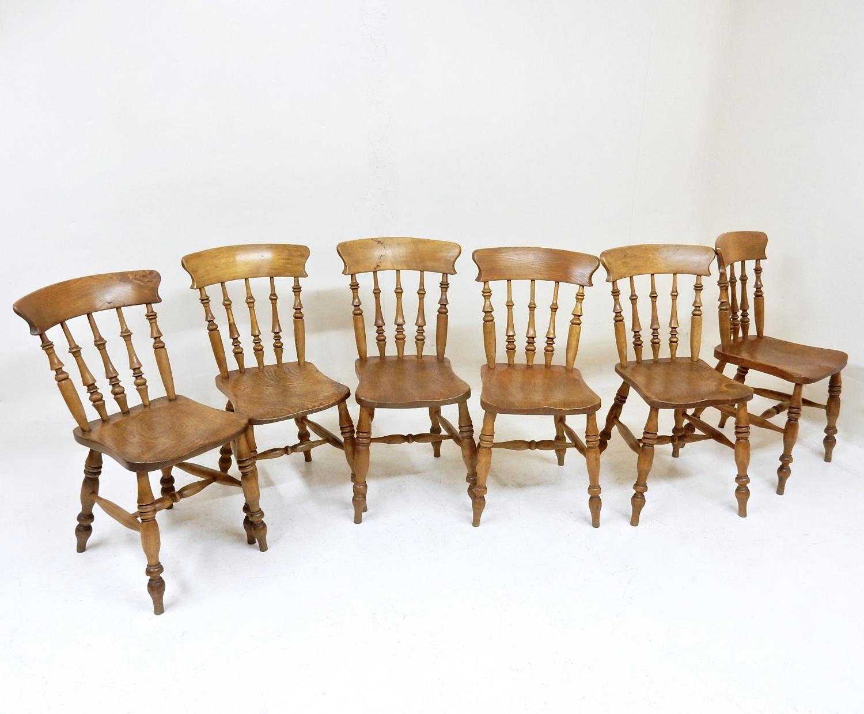 Antique Windsor Kitchen Chairs