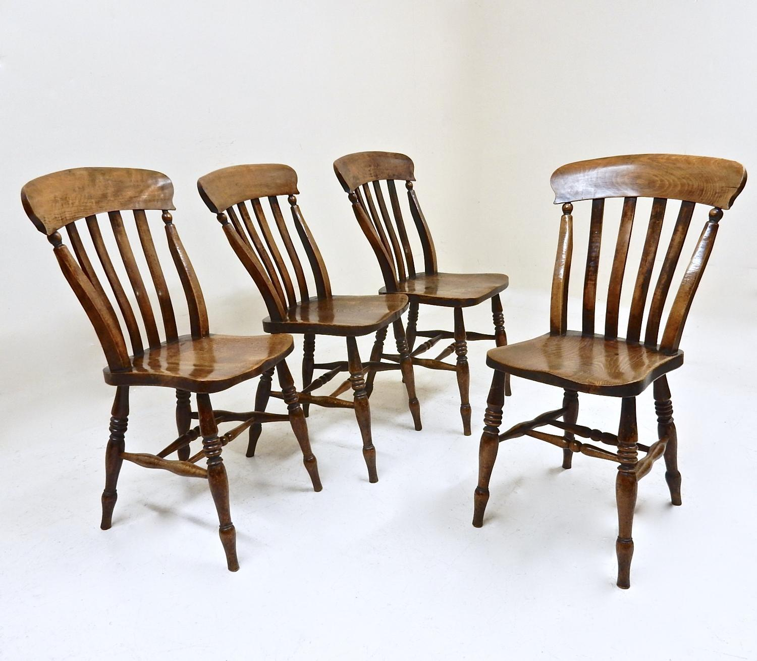 Lathback Windsor Kitchen Chairs