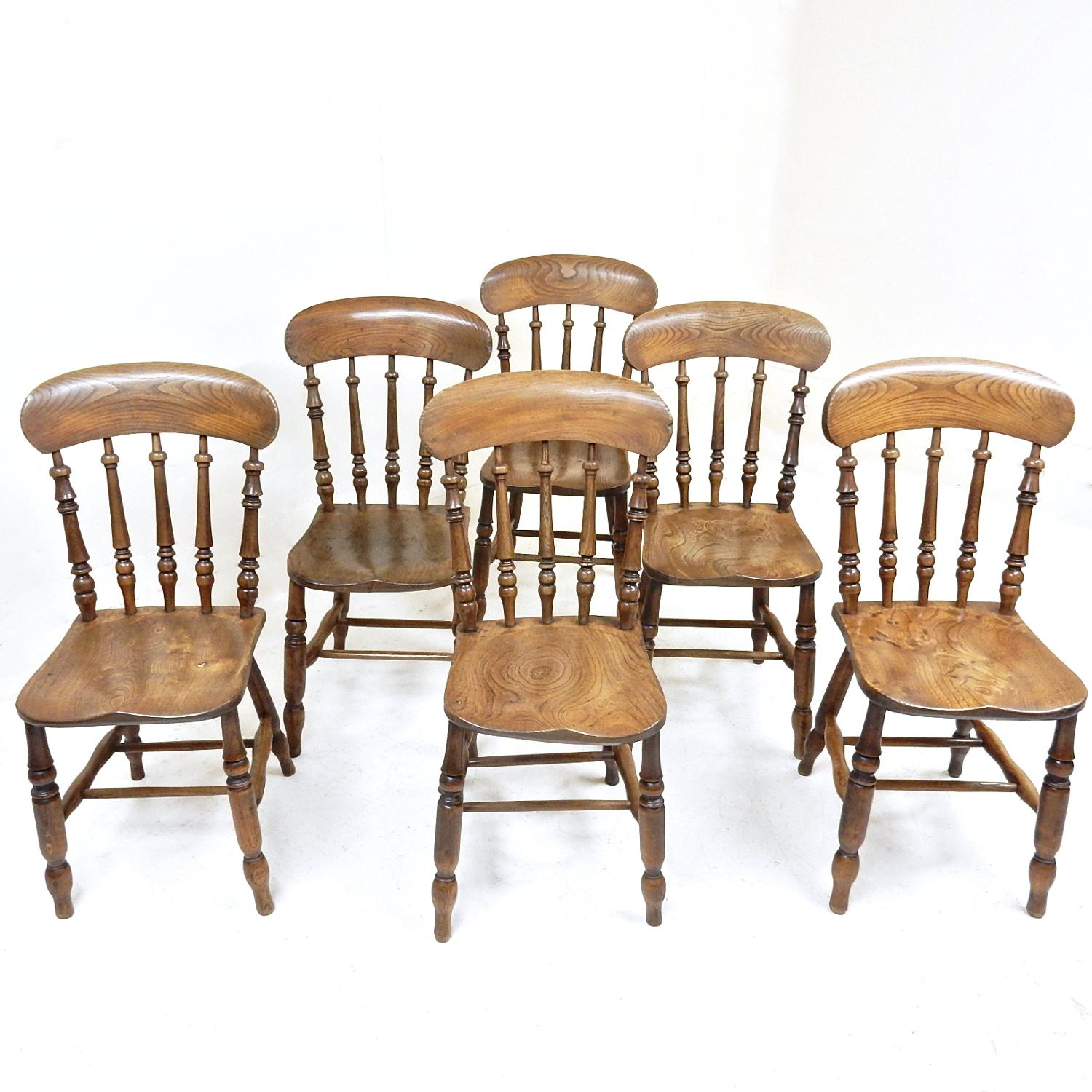 Antique Windsor Kitchen Chairs