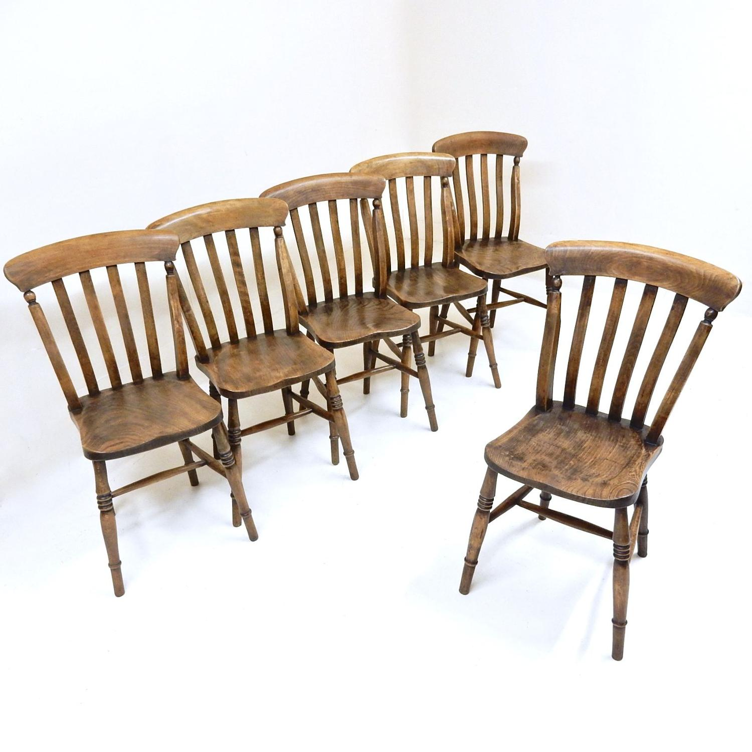 Antique Farmhouse Kitchen Chairs