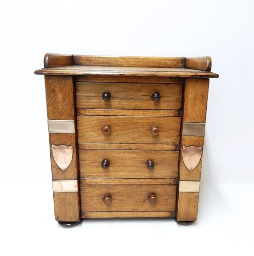 Antique table Top Chest