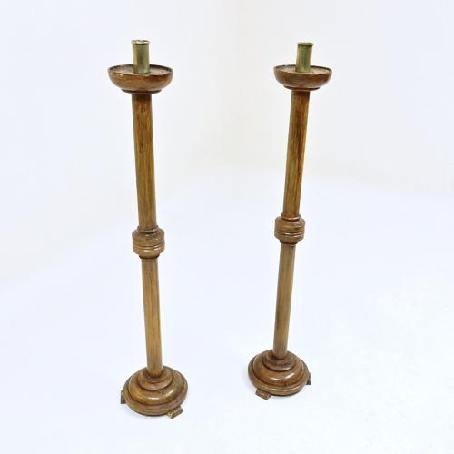 Antique Candle Stands