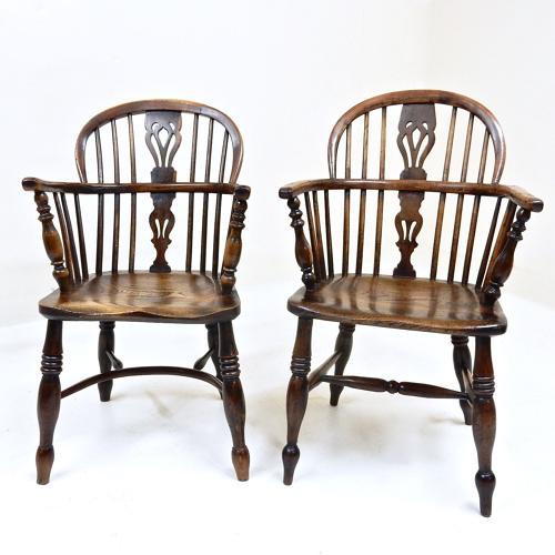 Antique Windsor Armchairs