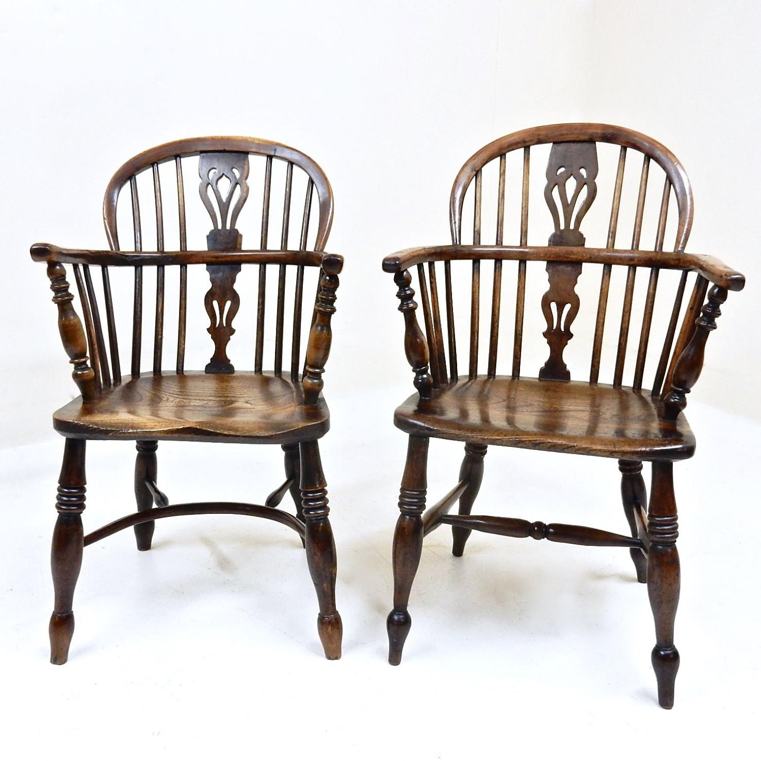 Antique Windsor Armchairs