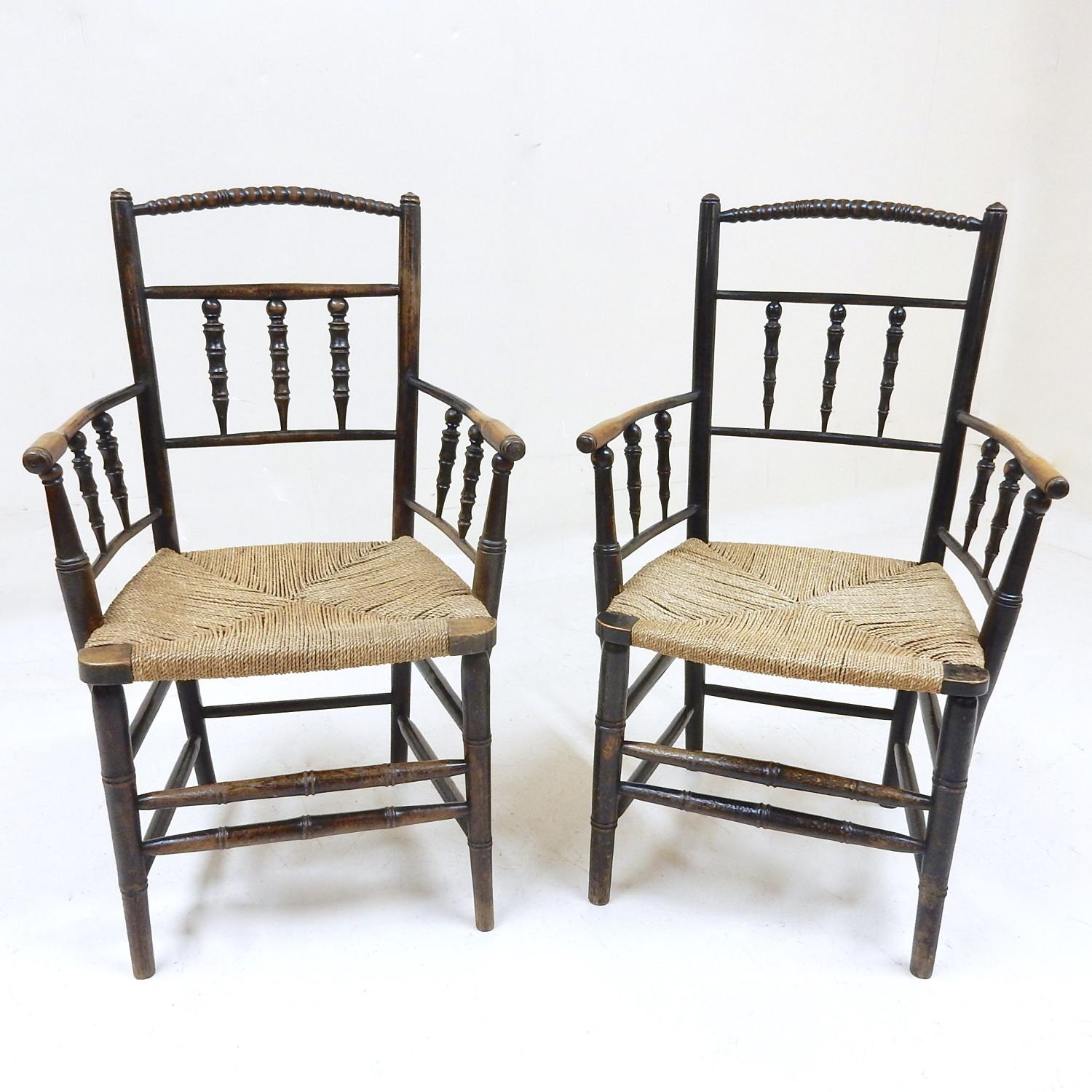 William Morris Armchairs
