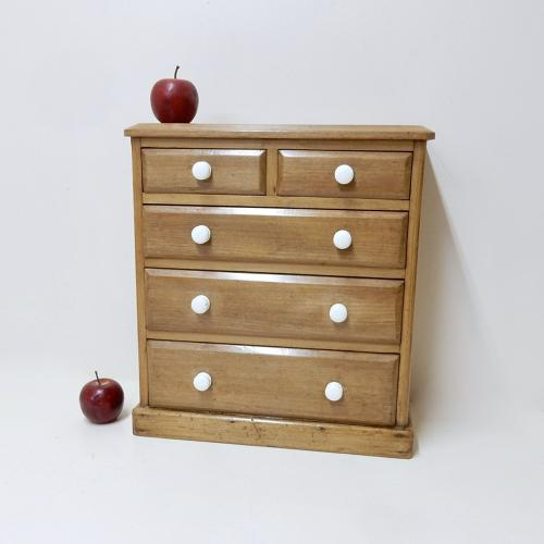 Miniature Antique Chest of Drawers