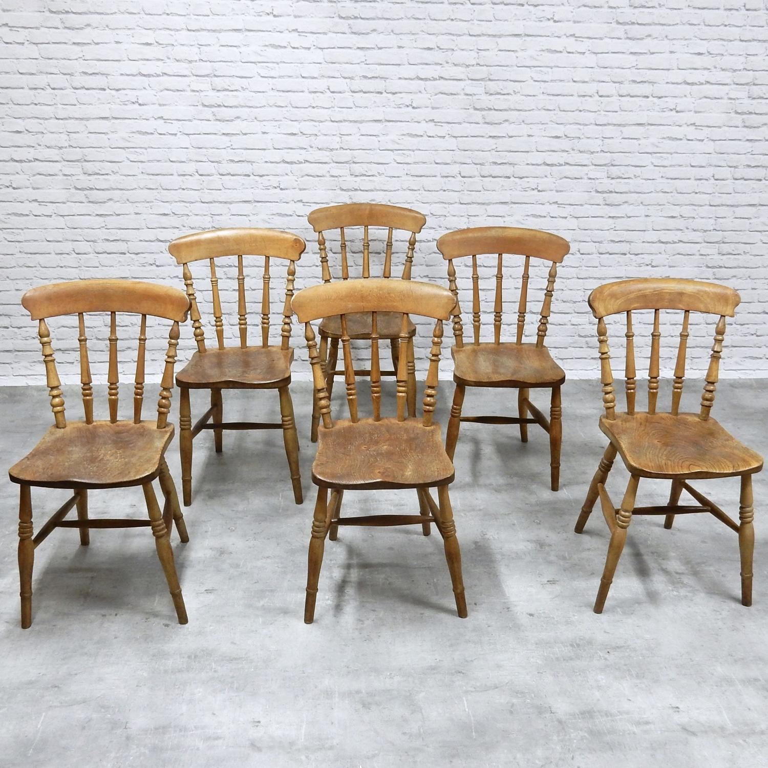 Antique Country Kitchen Chairs