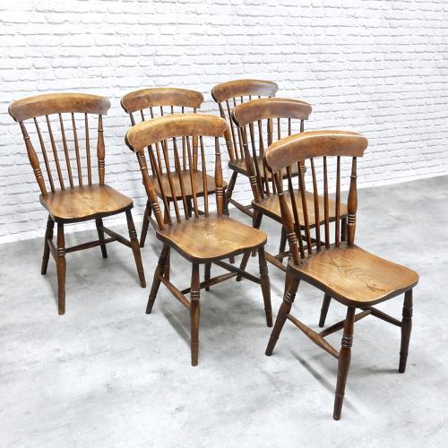 C19th Kitchen Chairs