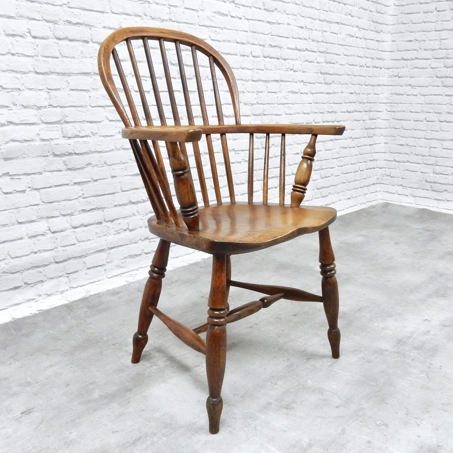 Antique Windsor Armchair, c.1840