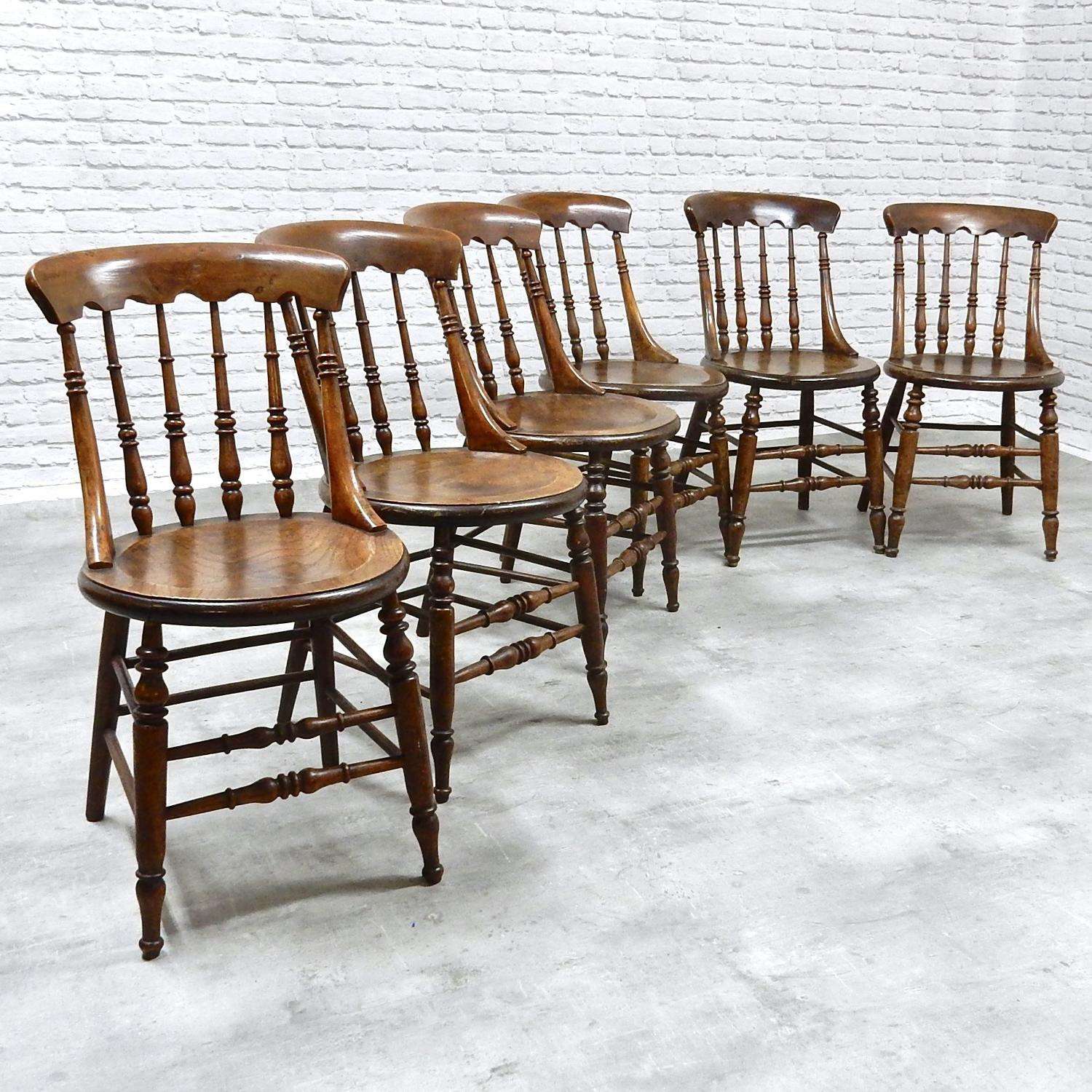 C19th Country Kitchen Chairs