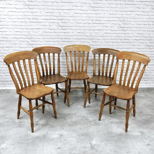 5x Windsor Lathback Chairs