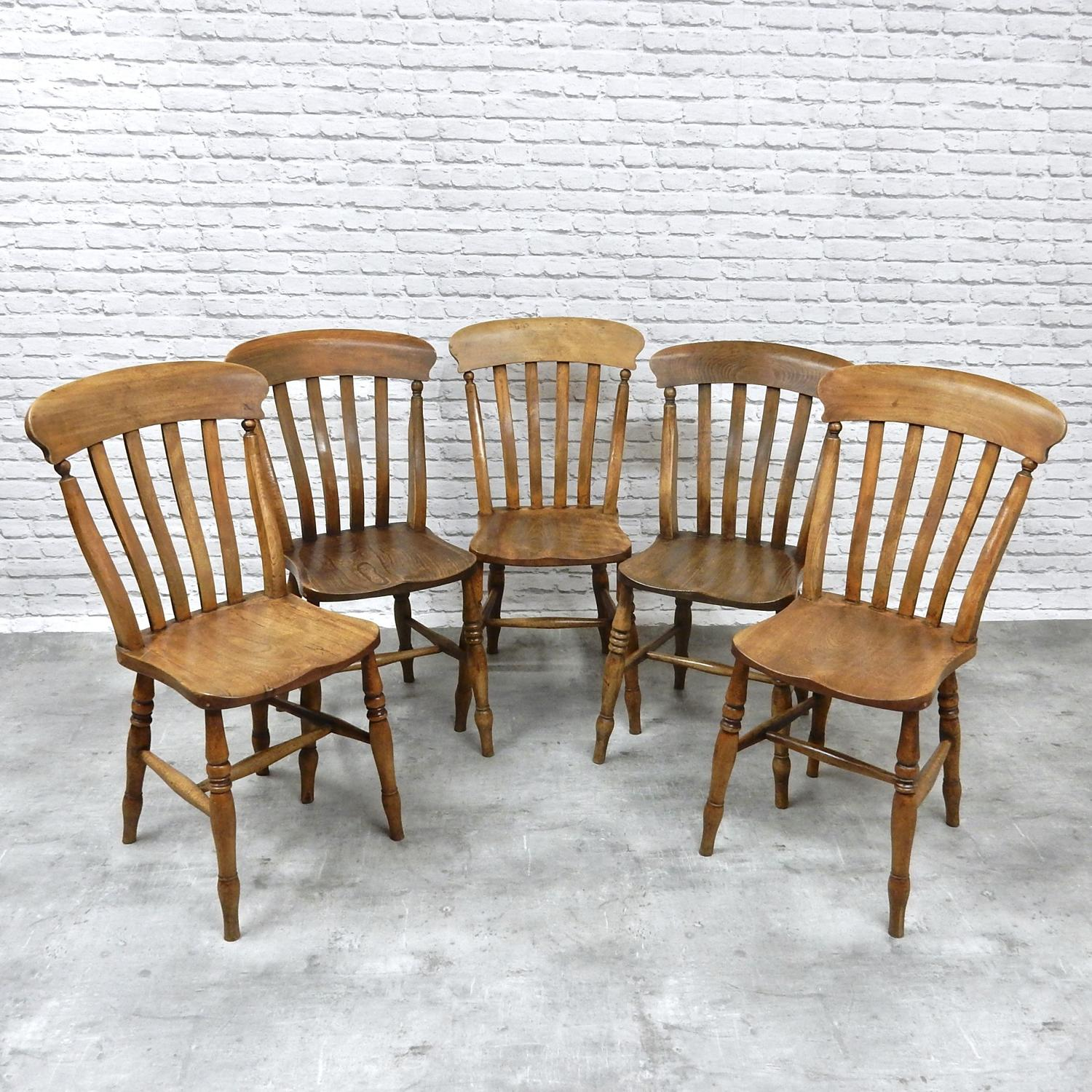5x Windsor Lathback Chairs