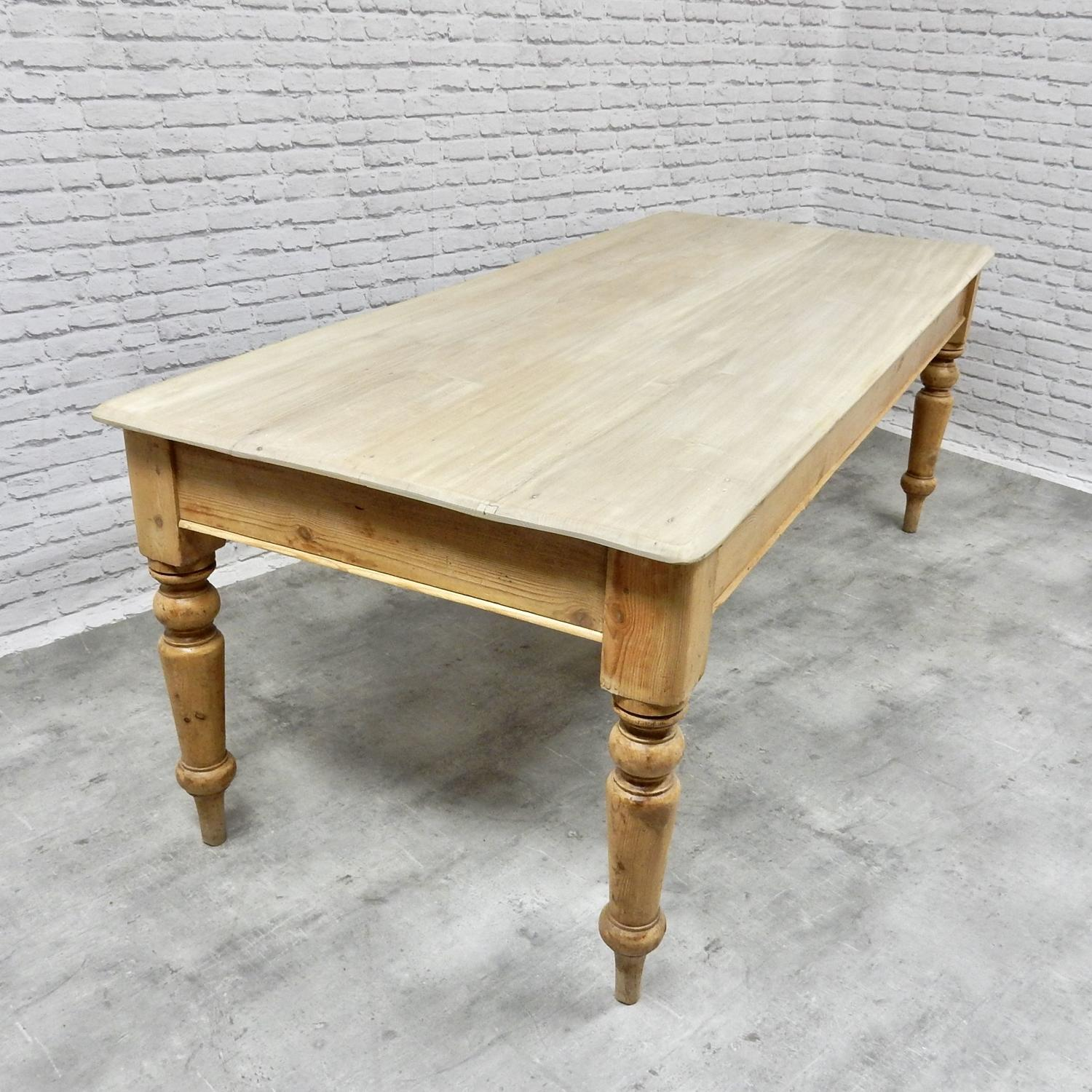 Large C19th Farmhouse Table