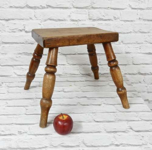 Small C19th Stool