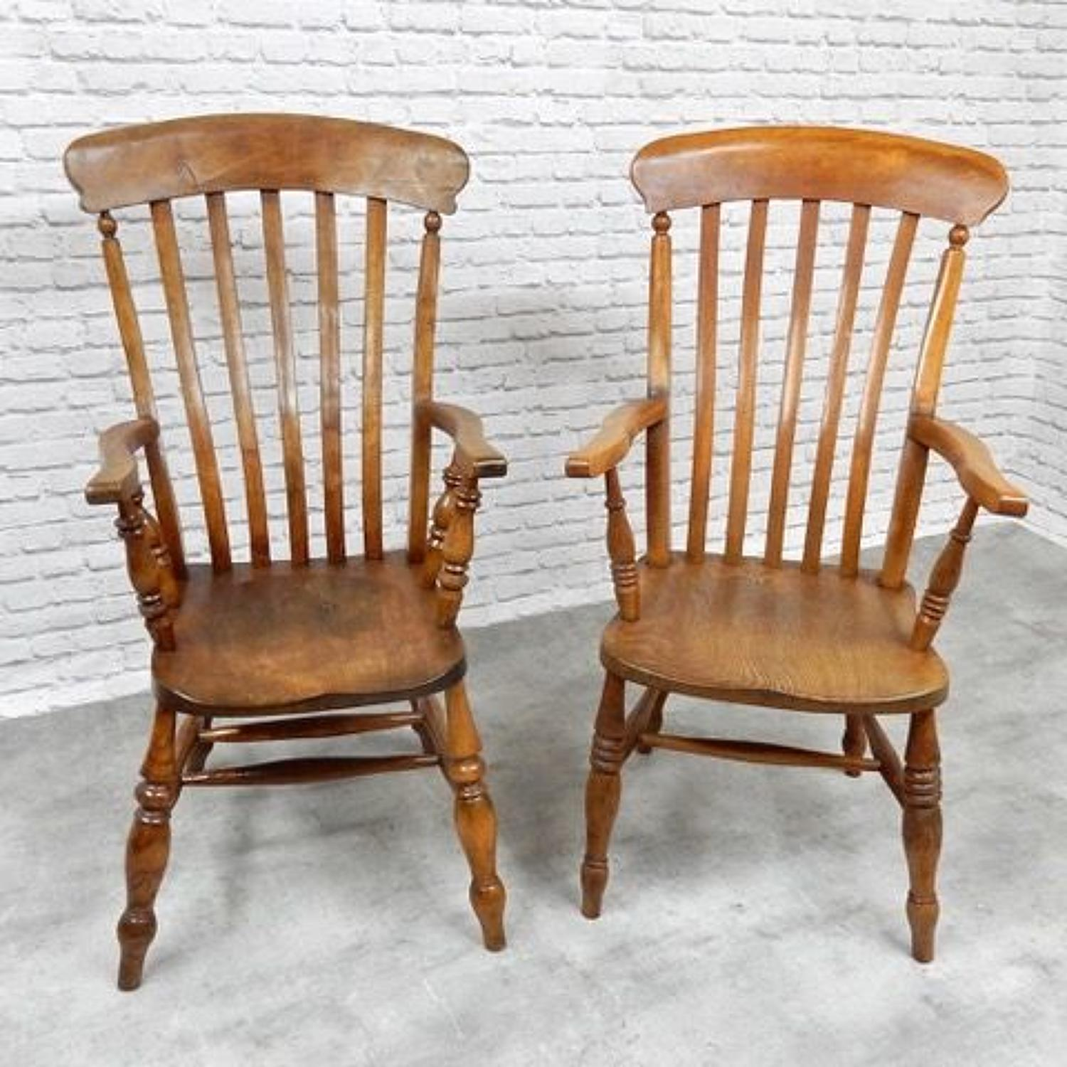 C19th Windsor Armchairs