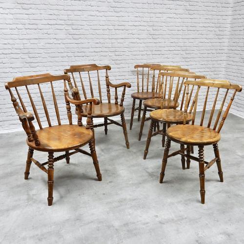 Swedish Kitchen Chairs by Ibex