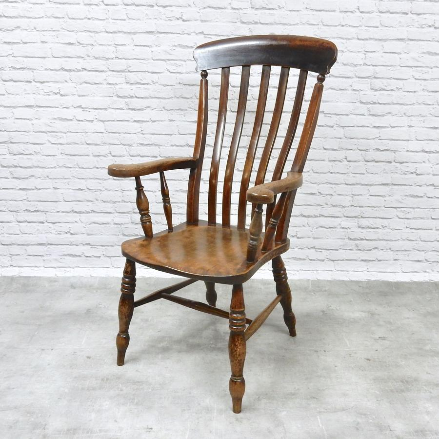 Large Victorian Windsor Armchair