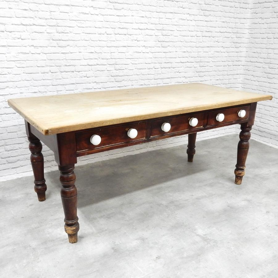 West Country Antique Pine Table