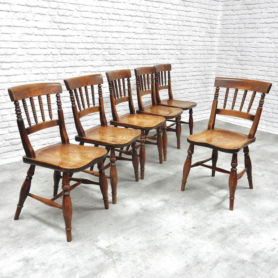 Early C19th Windsor Dining Chairs