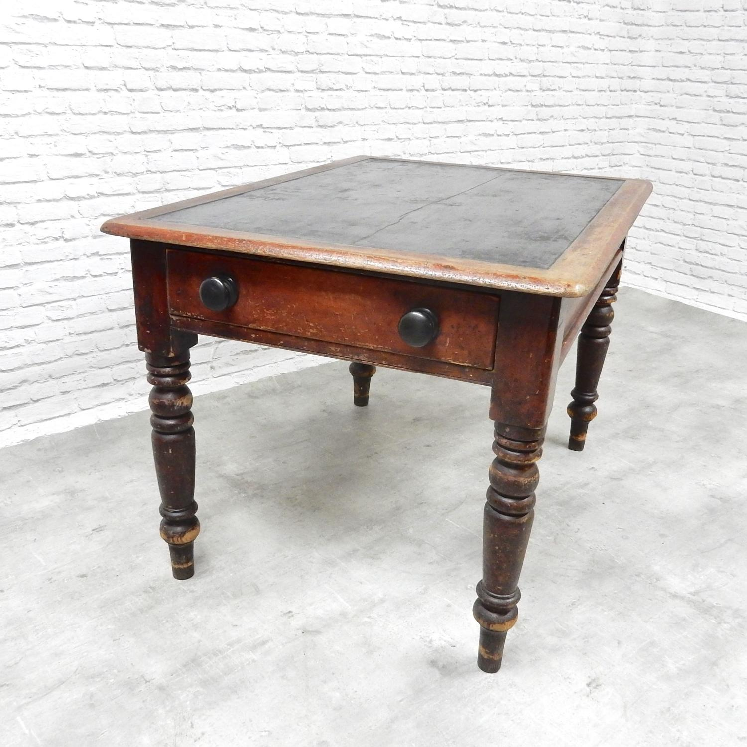 Antique Pine Library/Writing Table