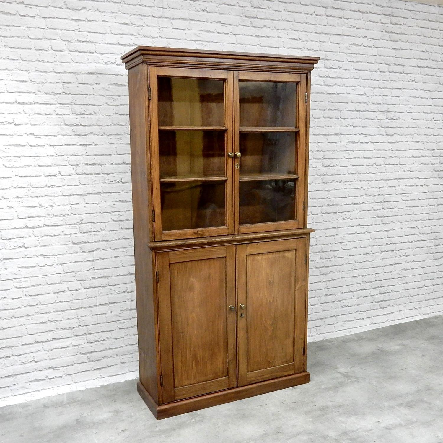 Victorian Glazed Bookcase