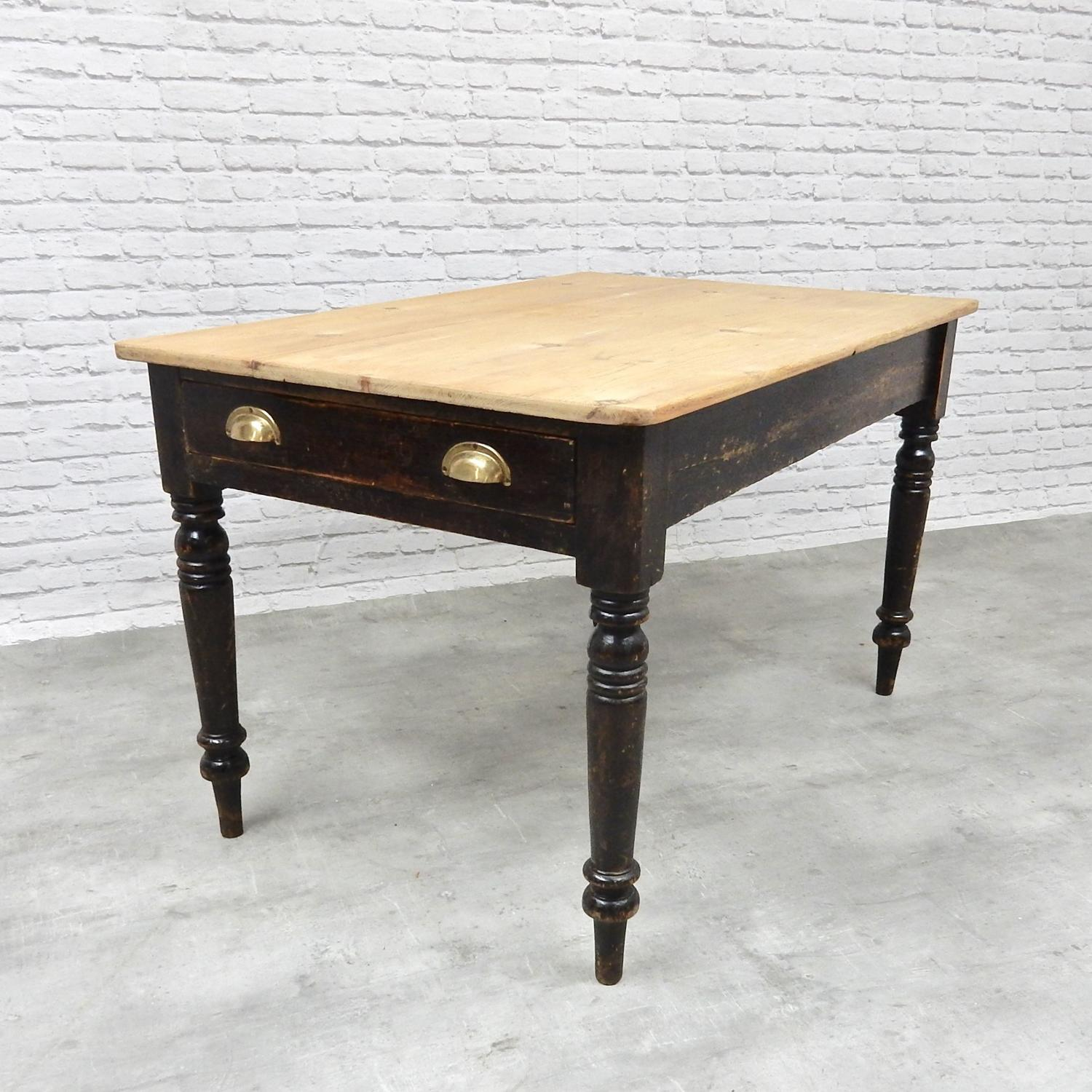 Small Victorian Kitchen Table