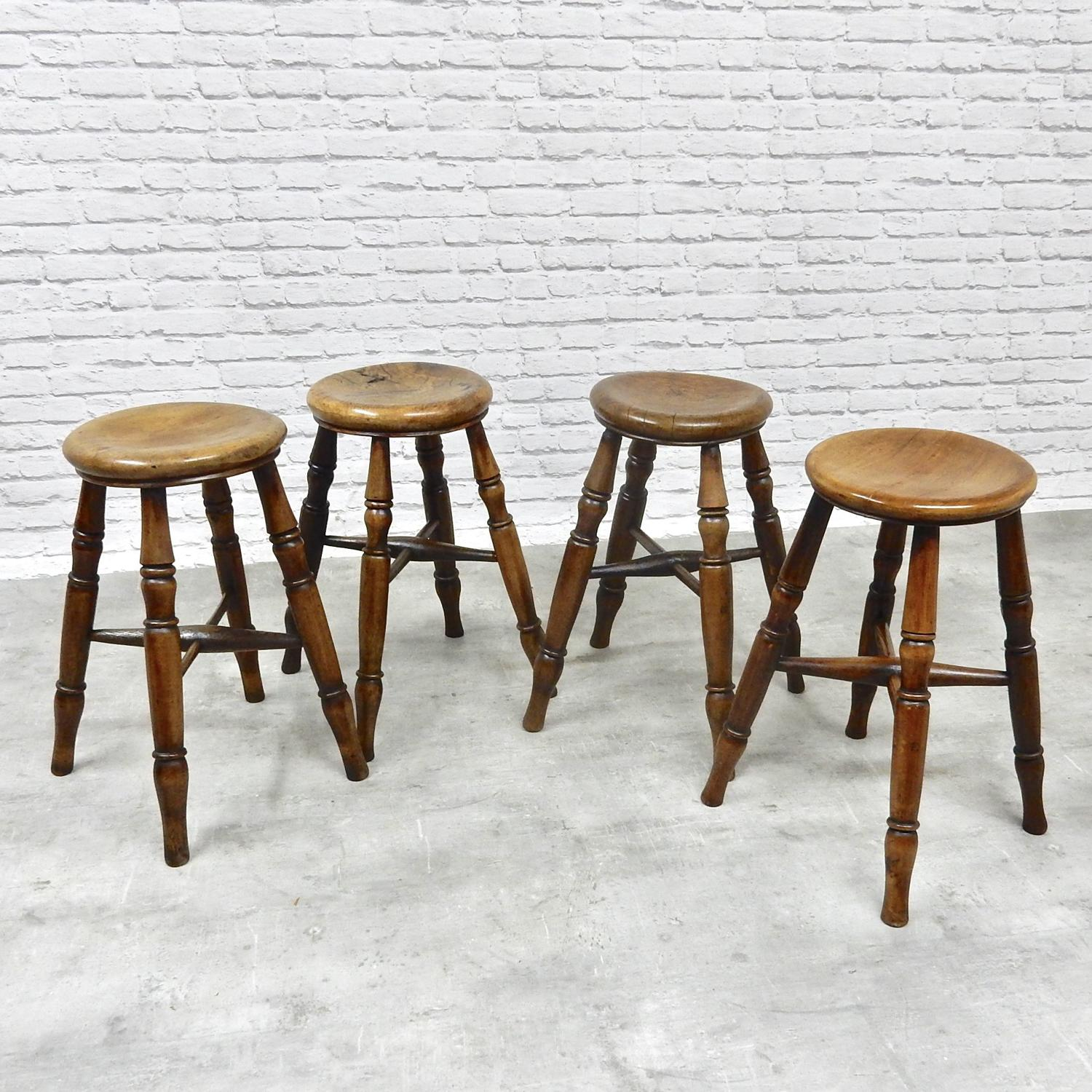 Antique Tavern Stools